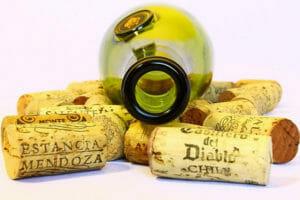 ワインの空瓶