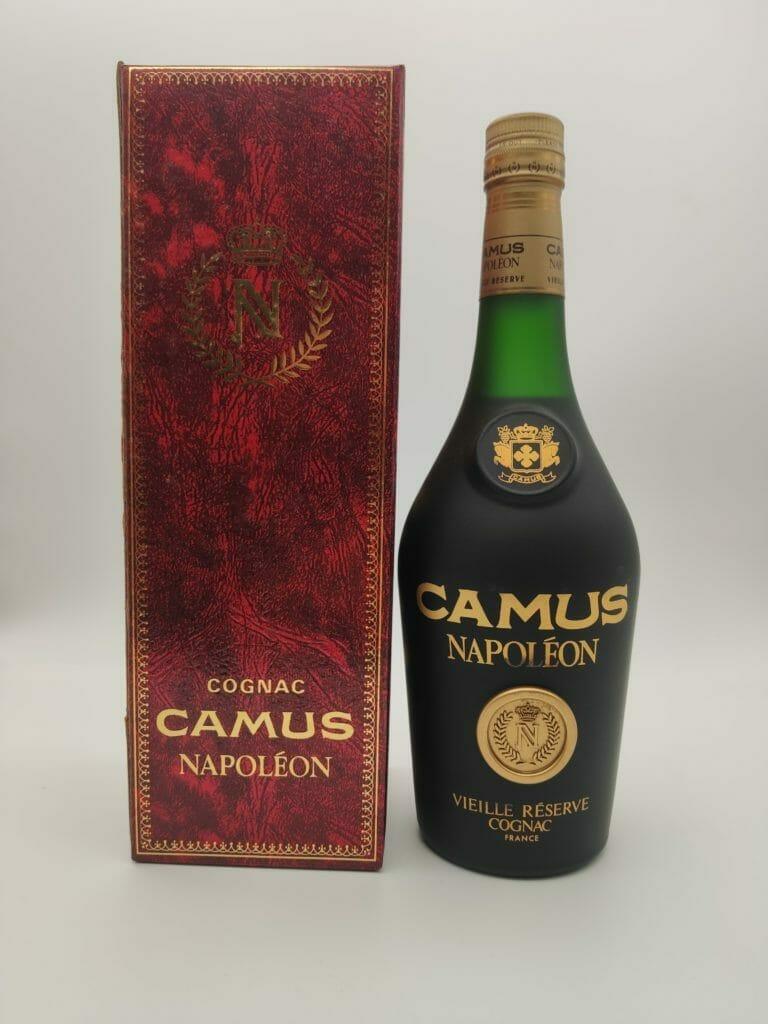 ブランデー・コニャック買取『コニャックの雄、カミュ ナポレオン』を買い取らせていただきました お酒買取実績紹介 1