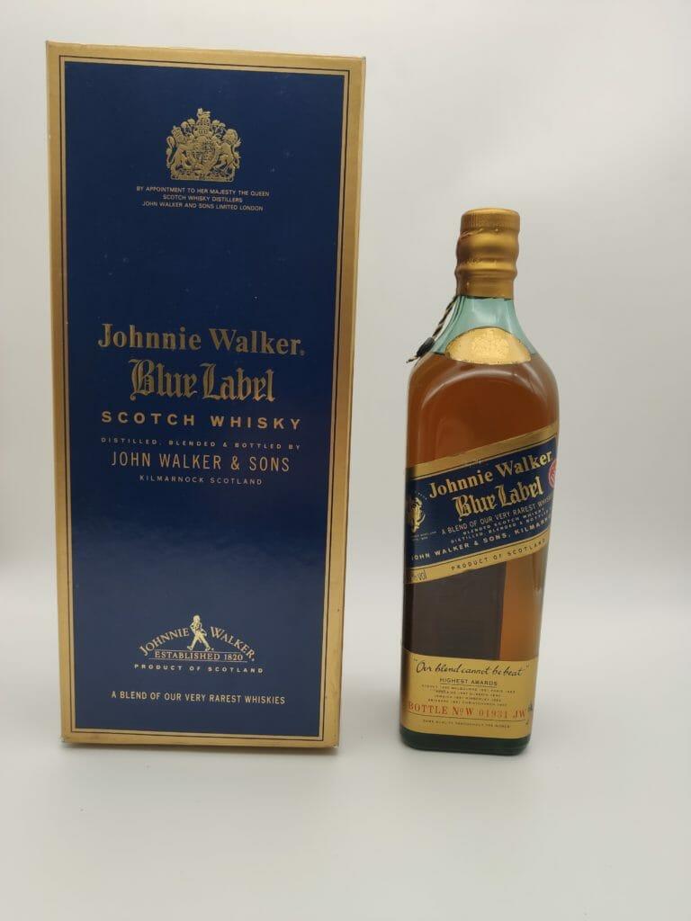 【ウイスキー買取】ジョニーウォーカーの上級ブランド ブルーラベルを高価買取しました。 / お酒買取実績紹介! 1