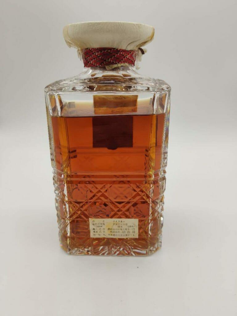 【ウイスキー買取】長期熟成のブレンデッド・スコッチウイスキー『バランタイン30年赤紋章デキャンタ』を買取いたしました。お酒買取実績紹介! 4