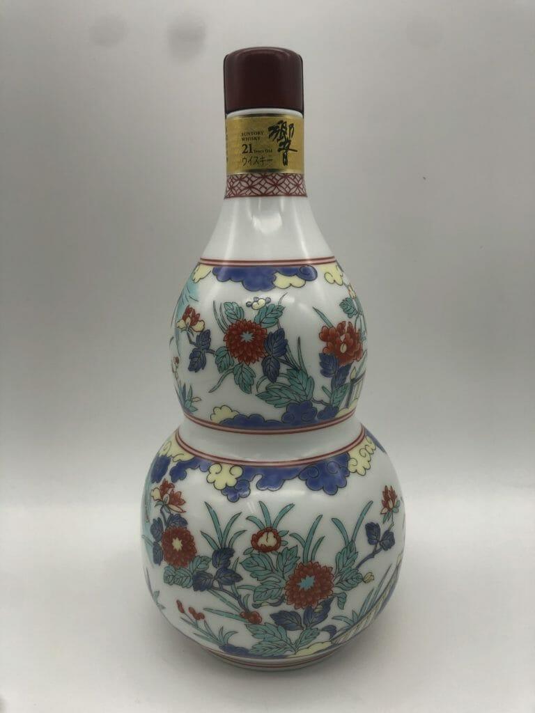 【ウイスキー買取】サントリーウイスキー響21年 有田焼 色絵牡丹文瓢箪形瓶を高価買取させていただきました。お酒買取実績紹介! 6