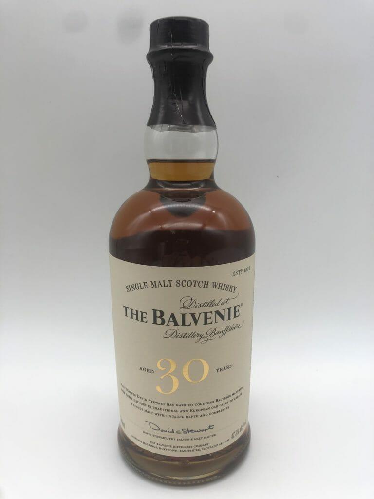 【ウイスキー買取】スコッチウイスキーザ・バルヴェニー30年を買い取りいたしました。お酒買取実績紹介! 1