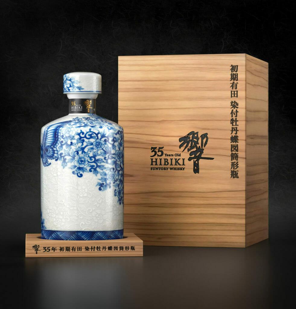 【ウイスキー買取】サントリー響21年 有田焼 色絵花鳥文茶筅形瓶を高価買取させていただきました。お酒買取実績紹介! 3