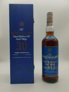 【ウイスキー買取】華やかな味わいのシングルモルト『マッカラン30年 ブルーラベル』を買取いたしました。お酒買取実績紹介! 4