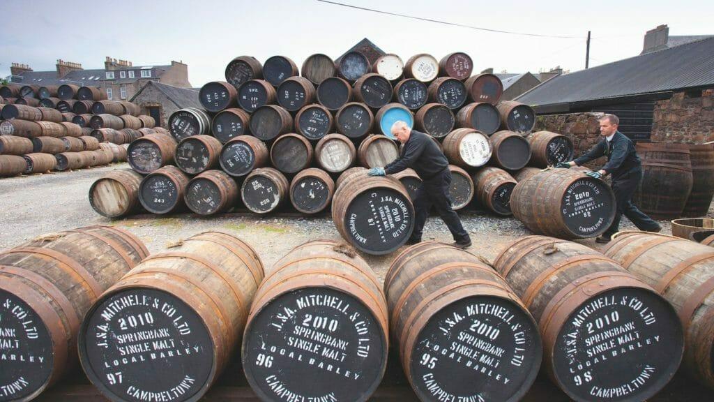 【ウイスキー買取】スコッチウイスキースプリングバンク8年を買い取りいたしました。お酒買取実績紹介! 3