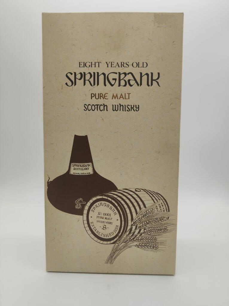 【ウイスキー買取】スコッチウイスキースプリングバンク8年を買い取りいたしました。お酒買取実績紹介! 7