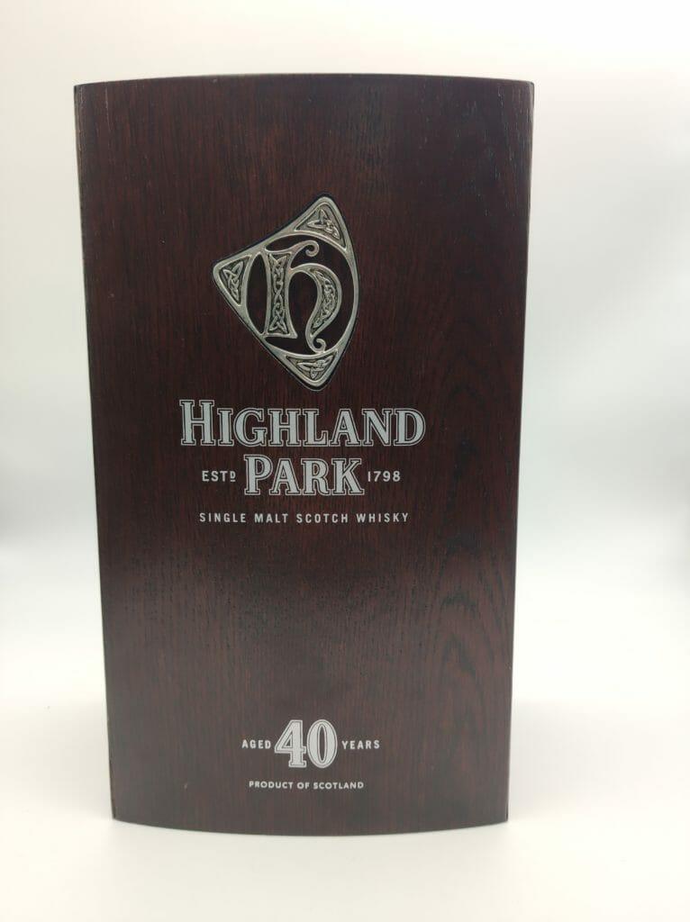 【ウイスキー買取】ハイランドパークの最高峰『ハイランドパーク40年』を買取いたしました。お酒買取実績紹介! 4