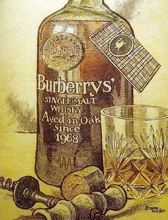 【ウイスキー買取】バーバリーがリリースしたシングルモルトウイスキー『バーバリー 1968』を買取いたしました。お酒買取実績紹介! 1
