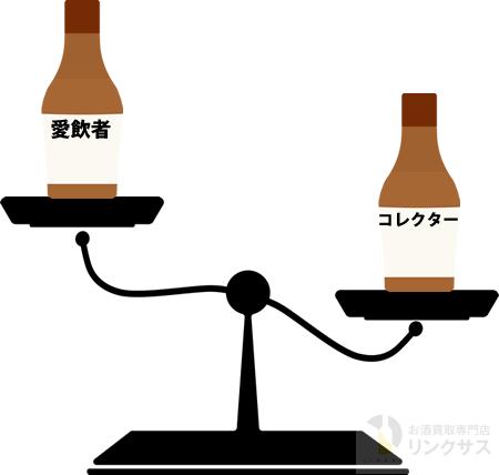 ミニチュアボトルの需要はコレクターが多いのか?愛飲者が多いのか?
